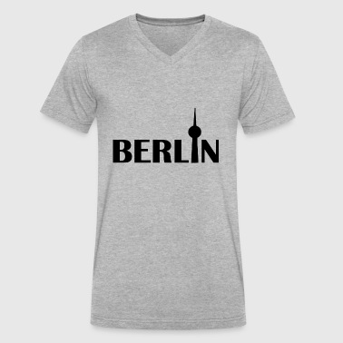 Prenzlauer Berg Zurich berlin - Men's V-Neck T-Shirt by Canvas