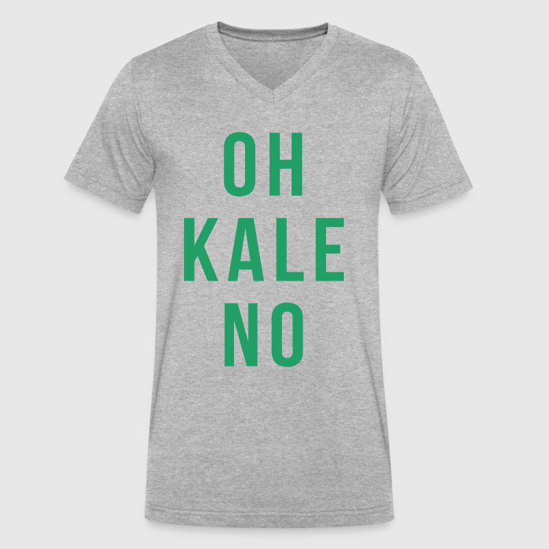 OH KALE NO - Men's V-Neck T-Shirt by Canvas