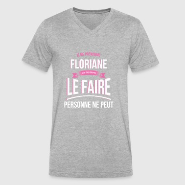 Florian Floriane no one can gift - Men's V-Neck T-Shirt by Canvas