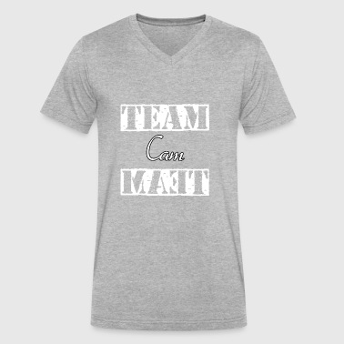 Team Cam - Men's V-Neck T-Shirt by Canvas