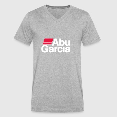 abu garcia - Men's V-Neck T-Shirt by Canvas