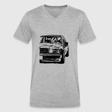 w201 - Men's V-Neck T-Shirt by Canvas