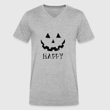 Halloween 2017 Halloween 2017 - Men's V-Neck T-Shirt by Canvas