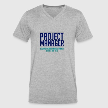 Project Manager - Men's V-Neck T-Shirt by Canvas