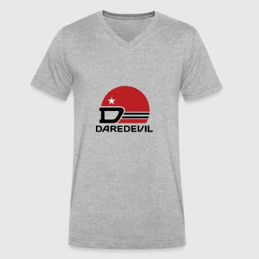 Daredevil Brewing Company - Men's V-Neck T-Shirt by Canvas