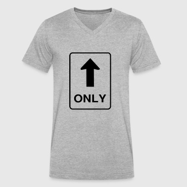 ONE WAY - Men's V-Neck T-Shirt by Canvas
