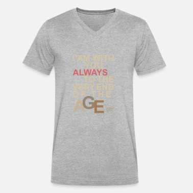 Always Be You ALWAYS WITH YOU - Men's V-Neck T-Shirt by Canvas