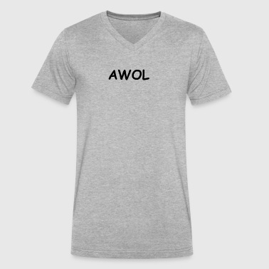 AWOL - Men's V-Neck T-Shirt by Canvas
