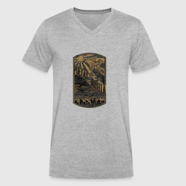 Moderne modern - Men's V-Neck T-Shirt by Canvas