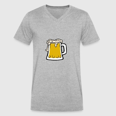 German Fashion German Beer - Men's V-Neck T-Shirt by Canvas