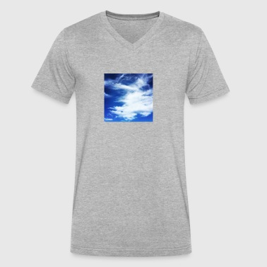 Clouds - Men's V-Neck T-Shirt by Canvas