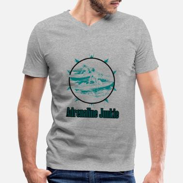 Adrenaline Junkies Adrenaline Junkie - Men's V-Neck T-Shirt