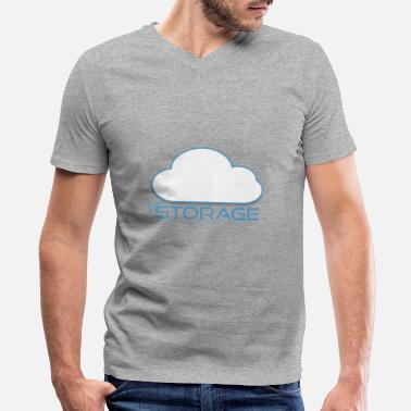 Storage INTERNET STORAGE - Men's V-Neck T-Shirt