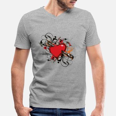 Anti Valentine Anti Valentines Day - Men's V-Neck T-Shirt