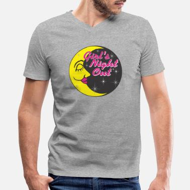 Nights Out Girl s Night Out - Men's V-Neck T-Shirt