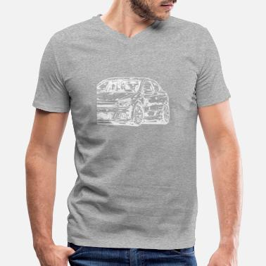 Opc astra h opc - Men's V-Neck T-Shirt by Canvas