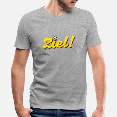 Ziel Ziel! - Men's V-Neck T-Shirt