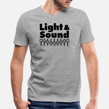 Lighting Light'n'Sound - Men's V-Neck T-Shirt