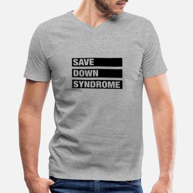 Save Down Syndrome - Men's V-Neck T-Shirt