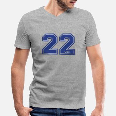 Confidence 22 centimeter - Men's V-Neck T-Shirt