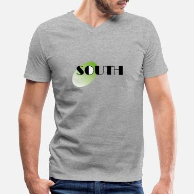 In The South South - Men's V-Neck T-Shirt by Canvas
