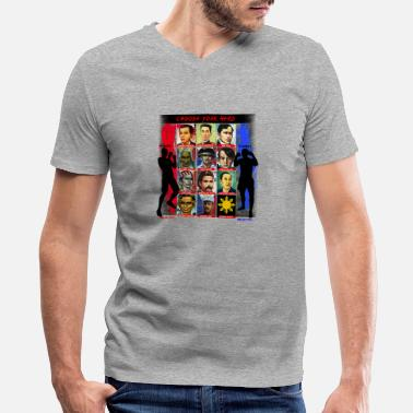 Filipino Heroes Phillippines Choose your hero - Men's V-Neck T-Shirt by Canvas