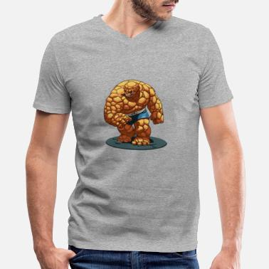 Thing - Men's V-Neck T-Shirt