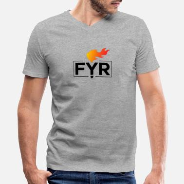 Fyre Festival - Men's V-Neck T-Shirt