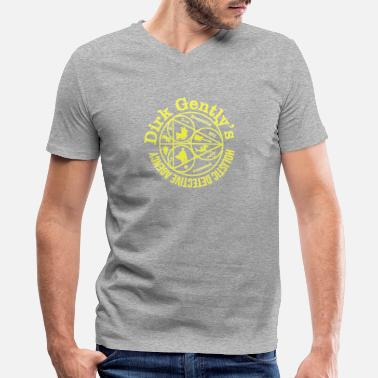 Everything Is Connected Everything Is Connected - Men's V-Neck T-Shirt by Canvas