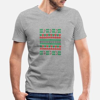 Natal natal - Men's V-Neck T-Shirt