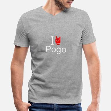Pogo Pogo - Men's V-Neck T-Shirt
