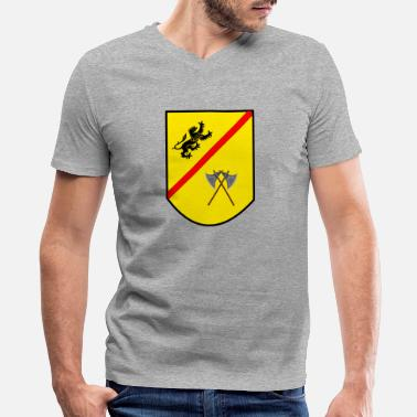 Coat Of Arms Coat of arms - Men's V-Neck T-Shirt