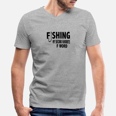 Fishing Graphics Fishing - Men's V-Neck T-Shirt