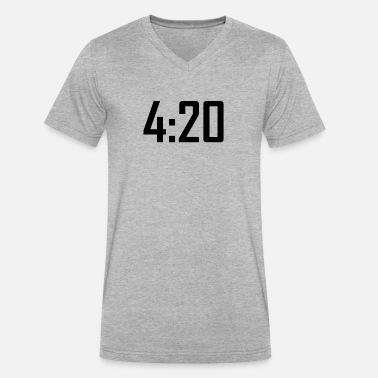 f836f28f 420 funny weed stoner marijuana cannabis Men's Premium T-Shirt ...
