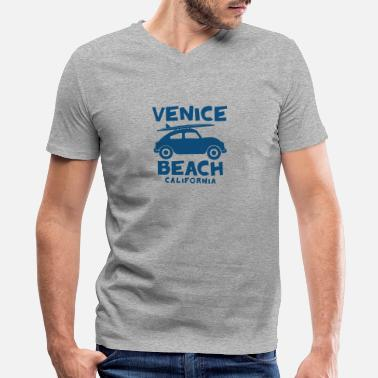 California Beach Venice beach california - Men's V-Neck T-Shirt