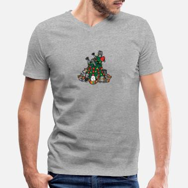Celebrate CELEBRATE CELEBRATE - Men's V-Neck T-Shirt