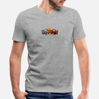 Text And Drive Don t Text and Drive - Men's V-Neck T-Shirt