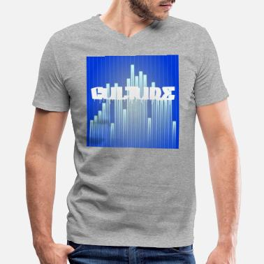 Urban Culture CULTURE WITH EQUALIZER - Men's V-Neck T-Shirt by Canvas