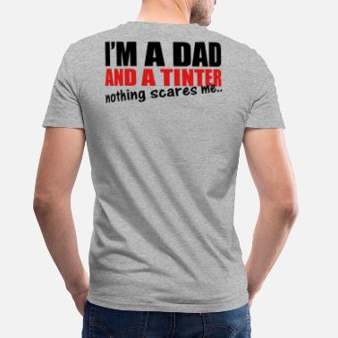 Tint Dad and Tinter - Men's V-Neck T-Shirt by Canvas