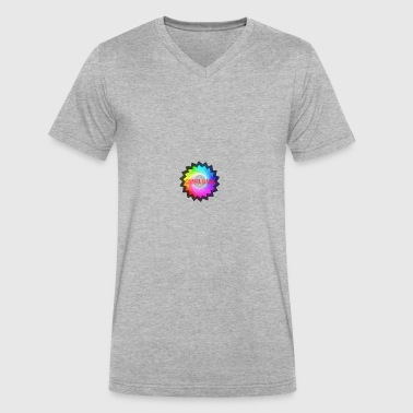 Sombra Gaming logo - Men's V-Neck T-Shirt by Canvas