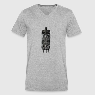 vacuum tube2 - Men's V-Neck T-Shirt by Canvas
