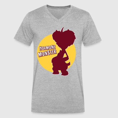 hormone monster - Men's V-Neck T-Shirt by Canvas