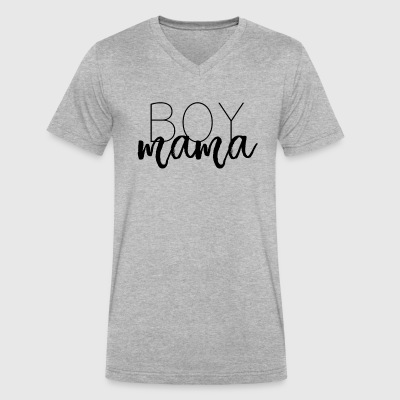 Boy Mama - Men's V-Neck T-Shirt by Canvas