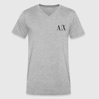 A X - Men's V-Neck T-Shirt by Canvas