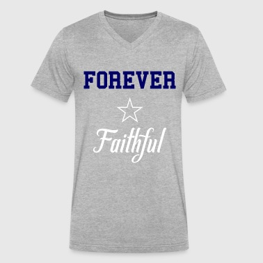 4 Ever Faithful - Men's V-Neck T-Shirt by Canvas