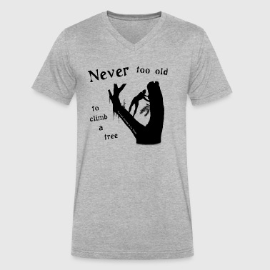 Never too Old - Men's V-Neck T-Shirt by Canvas
