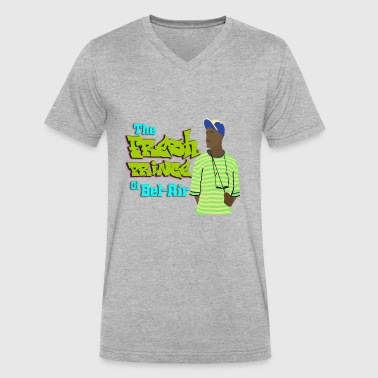 The Fresh Prince of Bel Air - Men's V-Neck T-Shirt by Canvas
