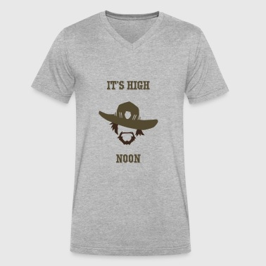 McRee - High Noon - Men's V-Neck T-Shirt by Canvas
