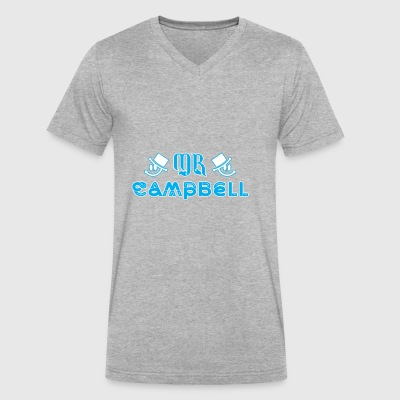 Mr Campbell - Men's V-Neck T-Shirt by Canvas