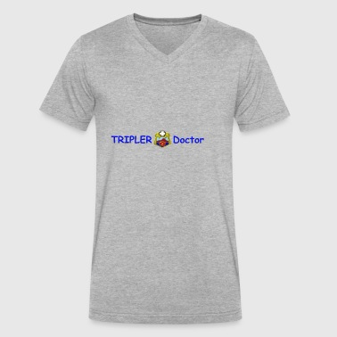 Tripler Doctor - Men's V-Neck T-Shirt by Canvas